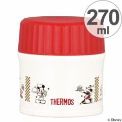 特価 保温弁当箱 スープジャー サーモス(thermos) 真空断熱フードコンテナー ミッキーマウス 270ml JBI-271DS