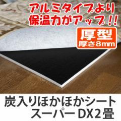 保温シート ほかほかSDX2畳炭入り 2枚組 ( 省エネ エコ )