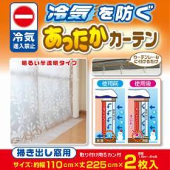 断熱カーテン あったかさ キープ カーテン 掃き出し窓用 ( 節電 省エネ カーテンライナー )