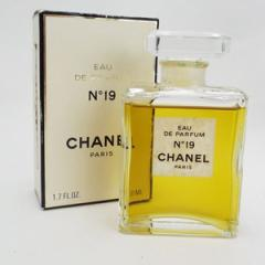 2caf572326a3 シャネル 香水 NO.19 オードパルファム ボトルタイプ 50ml 中古 CHANEL ナンバー19 |女性用 レディース