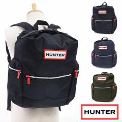 【即納】ハンター HUNTER オリジナル トップクリップ バックパック ナイロン リュック バッグ ブラック (UBB6017ACD-BLK FW18)