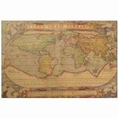 包装紙 アンティーク風 かっこいい 大航海風地図柄 5枚セット