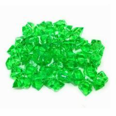 アクリルアイス ロック キラキラ 180個セット (グリーン)