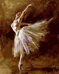 塗り絵キット DIY 油絵セット 大人用 世界の名画 (バレリーナA)