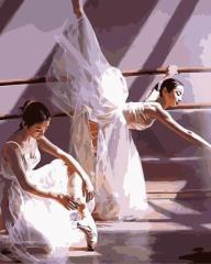 【お取り寄せ】塗り絵キット DIY 油絵セット 大人用 世界の名画 (バレリーナB)