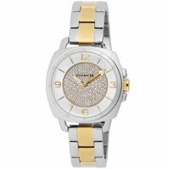 【セール】コーチ COACH BoyfriendSmall33.5mm レディース 女性 プレゼント 腕時計 シルバー(クリスタルストーン) SS/SS(YGPVD) 14501
