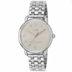 【セール】コーチ COACH DELANCEY 36mm レディース 女性 プレゼント 腕時計 シルバー ステンレススチール 14502260