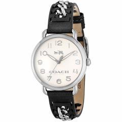 【セール】コーチ COACH DELANCEY 36mm レディース 女性 プレゼント 腕時計 シルバー カーフレザー/ステンレススチール 14502272