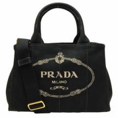 プラダ PRADA カナパ レディース 2WAYトートバッグ ブラック キャンバス 1bg439canapa-nero