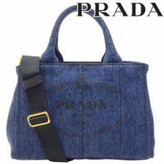 プラダ PRADA カナパ レディース 2WAYトートバッグ デニムキャンバス 1bg439denim-bleu lug_b