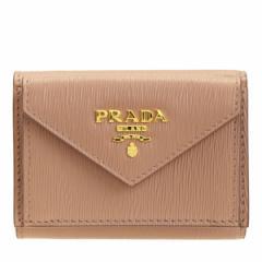 プラダ PRADA 三つ折り財布 ミニ アウトレット 1mh021vitmov-cipr レディース