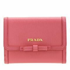 プラダ PRADA 二つ折り財布  アウトレット 1mh523vimofi-gera