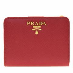 プラダ 財布 2つ折り財布 レディース PRADA 二つ折り財布  1ml018safmet-fuoc