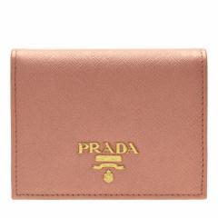 プラダ 2つ折り財布 財布 レディース PRADA 二つ折り財布  1mv204safmet-anmo