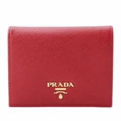プラダ 財布 PRADAレディース 二つ折り財布 フオーコ 1mv204safmet-fuoc