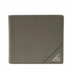 プラダ 財布 メンズ PRADA 二つ折り財布 アウトレット 2mo738vimigr-merc