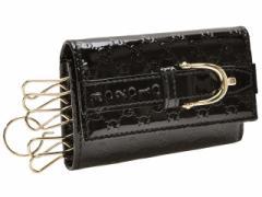 グッチ GUCCI ニース 6連キーケース ブラック マイクログッチシマパテントレザー レディース 309759av13g1000