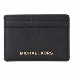 【一斉値下げセール】マイケルコース M.MICHAEL KORS レディース カードケース ブラック 32s4gtvd1l-001