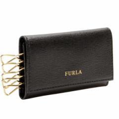 【限界値下げ】フルラ FURLA  CLASSIC 5連キーケース ブラック レザー 860902 アウトレット