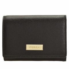 【Weeklyセール】フルラ FURLA レディース CLASSIC S TRIFOLD 二つ折り財布 ブラック 893443 アウトレット
