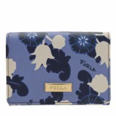フルラ FURLA  レディース 二つ折り財布 Wホック 花柄 929947 アウトレット