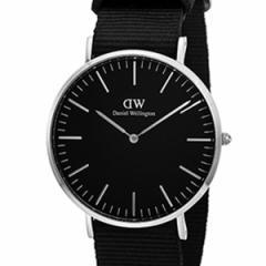 [厳選]ダニエルウェリントン Daniel Wellington 腕時計 Classic Black Cornwall メンズ ブラック ナイロン dw00100149