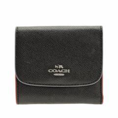 【セール】コーチ COACH レディース 三つ折り財布 花柄  ブラックマルチ   f24286svm2 アウトレット