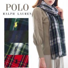 【10%OFFマフラークーポン対象】Polo Ralph Lauren ポロ ラルフローレン マフラー スカーフ メンズ 男性 プレゼント レディース 女性 チ