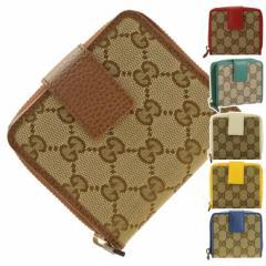 【セール】グッチ 財布 二つ折り財布 GUCCI ショップ袋付き 346056 アウトレット セール ファスナー 小銭入れ 財布 ブランド財布 カード