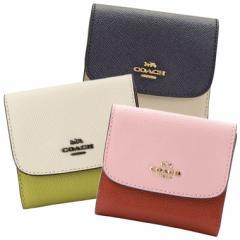 【セール】コーチ COACH レディース 三つ折り財布 バイカラー  f26458 アウトレット