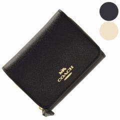 【【期間限定セール】】コーチ 財布 レディース 女性 プレゼント アウトレット 三つ折り COACH f37968 ファスナー 小銭入れ ブランド財布