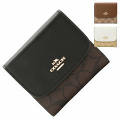 【期間限定セール】コーチ 財布 アウトレット COACH 二つ折り財布 レディース   レザー f87589