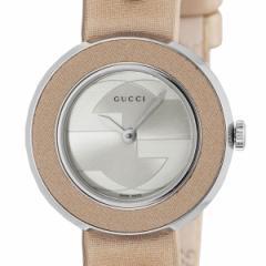 [厳選]グッチ GUCCI Uプレイ 36mm 腕時計 レディース シルバー ステンレス ya129503-sewh