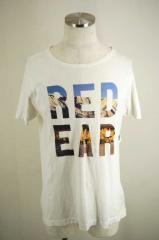 PAUL SMITH RED EAR(ポール・スミス) ロゴプリントTシャツ 表記無 ホワイト メンズ【バズストア 古着】【中古】