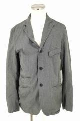 Engineered Garments(エンジニアードガーメンツ) 3Bシャンブレージャケット M グレイ × ブラック メンズ【バズストア 古着】【中古】