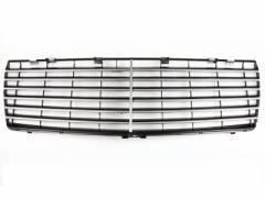 メルセデスベンツW140 クロームメッキブラックフロントグリル/Sクラス/1992-1999年 全商品送料無料