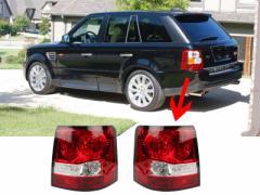 レンジローバー Range Rover Sport L320 LED テールランプ リアライト/ブラック