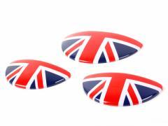 BMW Mini S R50 R52 R53 ドアハンドル+グローブボックス カバーイギリス国旗柄 全商品送料無料