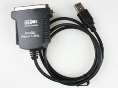 パラレルLPT36pin to USB変換アダプタケーブル【新品/送料込み】