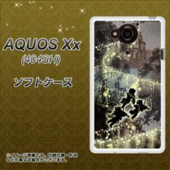 SoftBank AQUOS Xx 404SH TPU ソフトケース / やわらかカバー【253 天使の音楽隊 素材ホワイト】 UV印刷 (アクオス ダブルエックス 404S