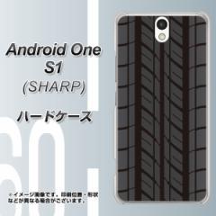 ワイモバイル Android One S1 ハードケース / カバー【IB931 タイヤ 素材クリア】(アンドロイドワン エスワン/ANDONES1用)