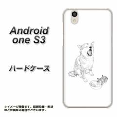 Y!mobile Android one S3 ハードケース / カバー【YJ259 柴犬 仔猫 素材クリア】(Y!mobile アンドロイドワン S3/ANDONES3用)