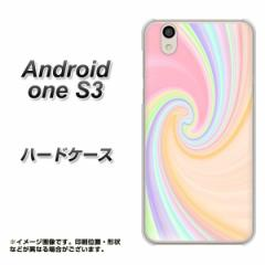 Y!mobile Android one S3 ハードケース / カバー【YJ307 マーブル 素材クリア】(Y!mobile アンドロイドワン S3/ANDONES3用)