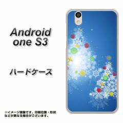 Y!mobile Android one S3 ハードケース / カバー【YJ347 クリスマスツリー 素材クリア】(Y!mobile アンドロイドワン S3/ANDONES3用)