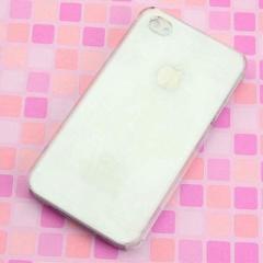 iPhone4s / iPhone4 共用 ケース 凸凹 スマホケース【177 もみじと虎(クリア)】(アイフォン/iPhone4s/iPhone4)