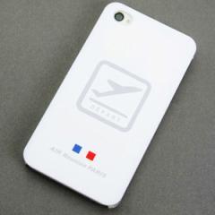 iPhone4sケース・iPhone4ケース 特殊印刷 スマホケース【549 AIR-Line-離陸(クリア)】 UV印刷