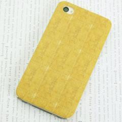 iPhone4sケース・iPhone4ケース 特殊印刷 スマホケース【557 ビスケット(クリア)】 UV印刷