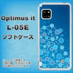 docomo Optimus it L-05E TPU ソフトケース / やわらかカバー【729 プリミティブ 素材ホワイト】 UV印刷 (オプティマス it/L05E用)