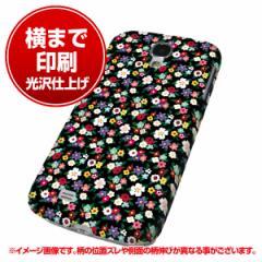 docomo Galaxy S4 SC-04E ハードケース【まるっと印刷 778 マイクロリバティプリントBK 光沢仕上げ】横まで印刷(ギャラ