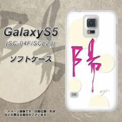 GALAXY S5 SC-04F / SCL23 TPU ソフトケース / やわらかカバー【OE833 陽 素材ホワイト】 UV印刷 (ギャラクシー エス ファイブ/SC04F用